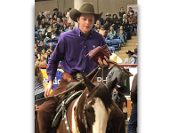 Pierce Wold riding Real Smooth Cat